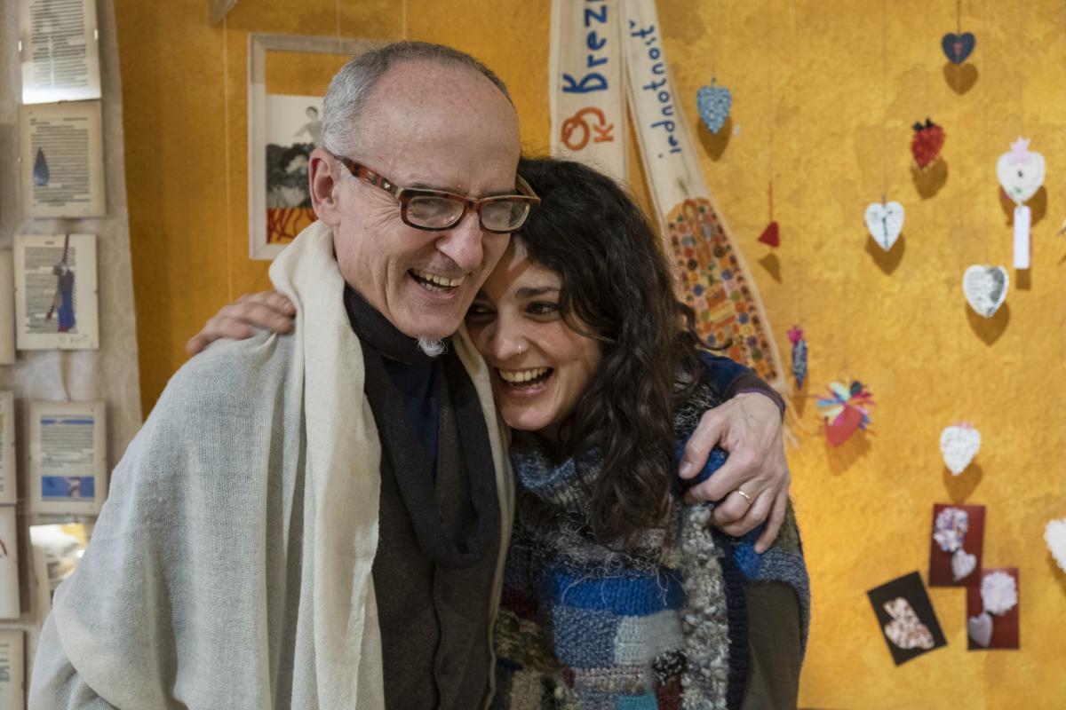 Guido Fauro e Caterina Buffarini